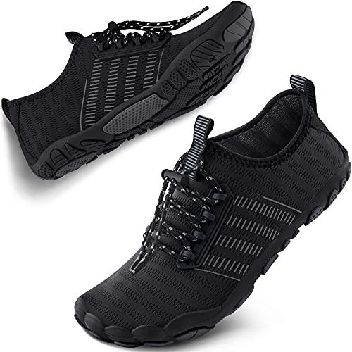 SAYOLA Water Shoes Mens Womens Quick Dry Sports Swim Aqua Shoes Barefoot Diving Boating Beach SA001 501