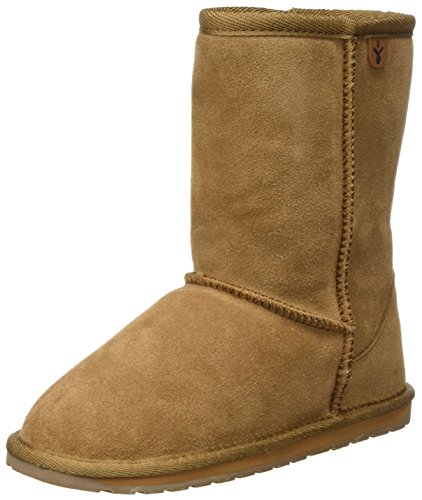 Emu Wallaby Lo,Unisex - Kinder Stiefel, Beige (Chestnut), 32 EU  (13 UK)