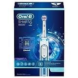 Oral-B Smart6 6200W Elektrische Zahnbürste, mit Timer und Andruckkontrolle, weiß/blau