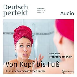 Deutsch perfekt Audio - Rund um den menschlichen Körper. 11/2014 Titelbild