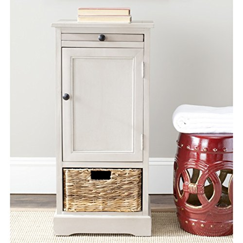 Safavieh American Homes Collection Raven Vintage Grey Tall Storage Unit