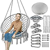 Greenstell Hanging Chair with Hanging Kits and Cushion