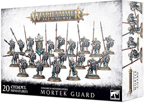 Games Workshop Warhammer : OSSIARCH BONEREAPERS MORTEK Guard