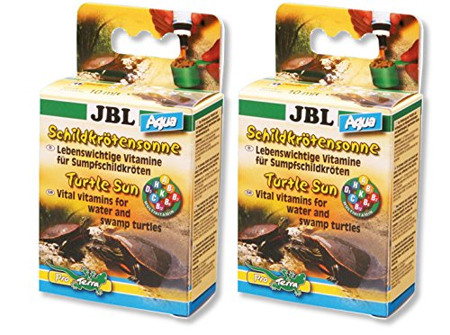 JBL- 2X 10ml Schildkrötensonne Aqua Vitamine für Wasser- und Sumpfschildkröten