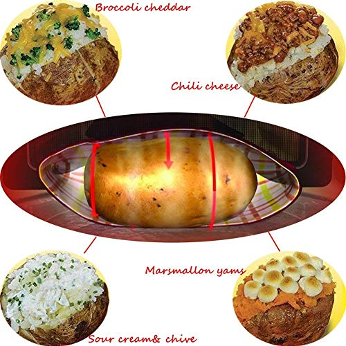 YIQI Bolsa de Patata para microondas, maíz Mongol, Pan de un día ...
