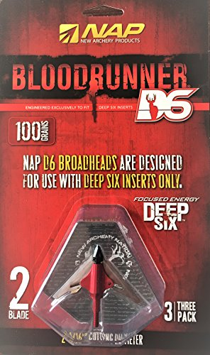 Bloodrunner New Archery Products 100Gr 2Bl D6