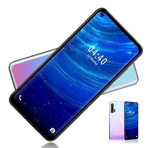 MIQOO Nowo6pro Smartphone, 6.7inch HD Screen Teléfono móvil Quad Core Smartphone 6 + 64G Face ID para Android, Pantalla táctil de 5 puntos, Tarjetas duales Doble modo de espera,(Enchufe de la UE)
