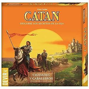 Devir - Tesoros, Dragones y aventureros, escenarios para expansiones de Catan (BGCATDA): Amazon.es: Juguetes y juegos