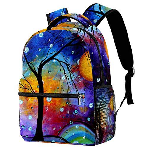 12' Laptop Backpack for Women,College,School Dayparks,Winter Sparkle Original