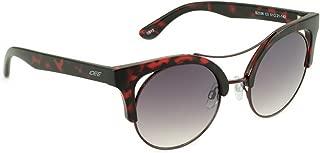 IDEE Gradient Round Women's Sunglasses - (IDS2336C3SG|51|Smoke Gradient FM Color)