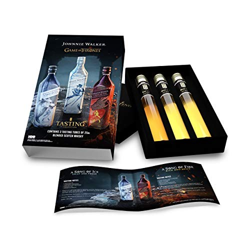 Game Of Thrones Johnnie Walker Tasting Collection | 3 x 25 ml Blended Scotch Whisky | gift set