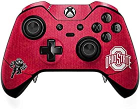 Skinit Decal Gaming Skin for Xbox One Elite Controller - Officially Licensed Ohio State University OSU Ohio State Buckeyes Red Logo Design