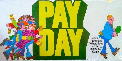 Payday Board Game 1975 Edition by Parker Brothers (English Manual)
