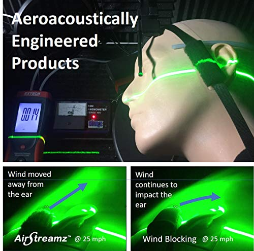 AirStreamz Cycling Wind Noise Reducer