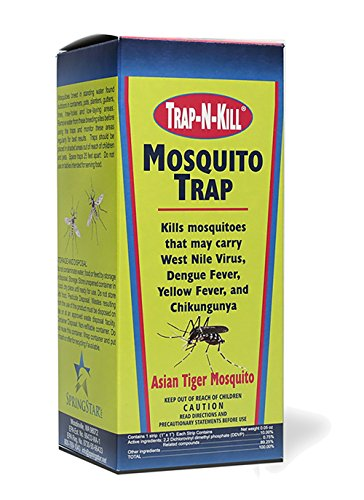 Trap N Kill TNK71015D Springstar Mosquito Trap, Black