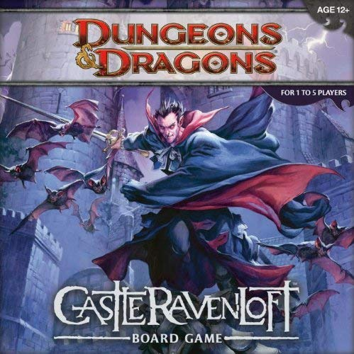 Wizards of the Coast Juego de Mesa 207790000 – Castle Ravenloft