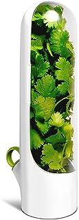 Conservateur Herbes Fraîches Coupées, Tasse Fraîche à la Vanille,Tasse de Rangement de Cuisine pour Coriandre, Menthe, Per...