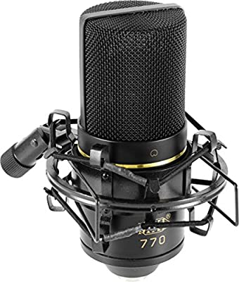 MXL Mics 770 Cardioid Condenser Microphone by Marshall Electronics