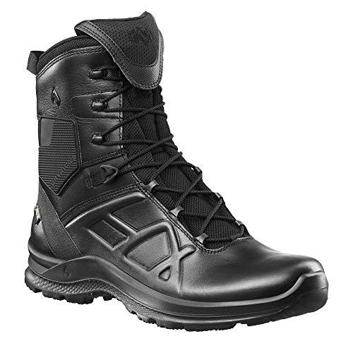 Haix Black Eagle Tactical 2.0 GTX high/Black Praktische Einsatzschuhe: Bequeme Lederstiefel für Beruf und Freizeit. 38