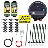 VOSS.PET Kit Valla eléctrica para Animales pequeños y medianos, Set...