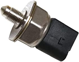 Unlimited Rider Fuel Injection Pressure Sensor High Fuel Rail Pressure Sensor For AUDI A4 05-09, A6 2010, A5 Q5 Q7 R8 09-10, For VW VOLKSWAGEN CC 09-15, PASSAT 06-08 PASSAT CC 09-10 Replace 03C906051D