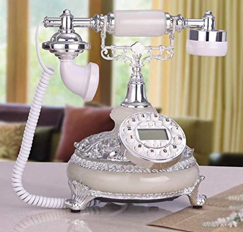 Dirgee Teléfono Antiguo, teléfono Fijo Creativo a 'Old/Old House 25x22x26cm Teléfono móvil (Color: # 1) (Color : #5)