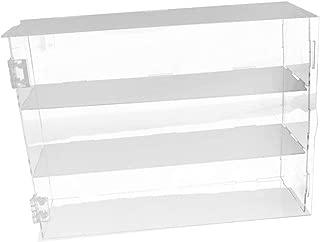 Estante acr/ílico en forma de V para tienda de zapatos expositor de venta al por menor de alta calidad