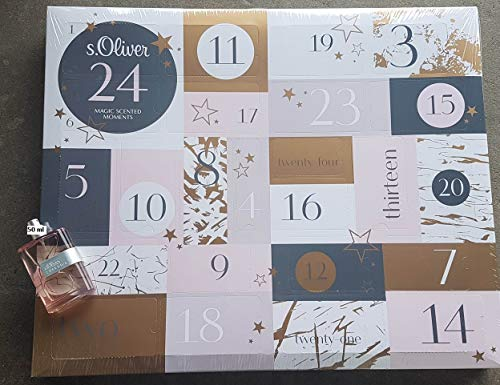 S.Oliver - Adventskalender 2019 - Advent Calendar - Beauty - Düfte - Pflege - mit 50 ml Superior für Damen