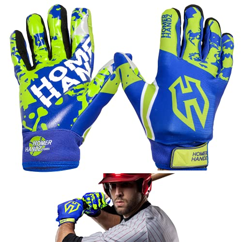 Homer Handz Weighted Baseball Training Gloves (Youth-Large)