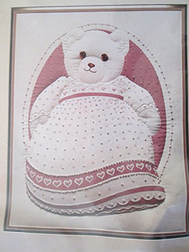 Why Should You Buy Candlewicking Picture Kit VTG Monarch Horizons Pinky CR64 Teddy Bear Reinardy sup...