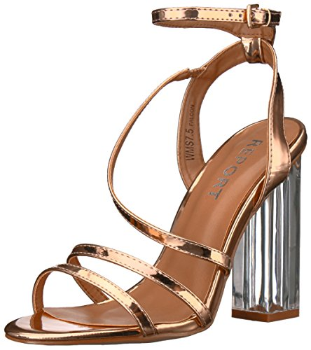 Report Damen Sandalen, Rose Gold, 36.5 EU