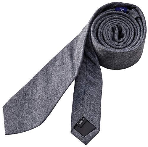 Hedgerow® Krawatte aus 100% Baumwolle, Baumwoll-Schlips, Slim, Handgefertigt, verschiedene Farben und Muster