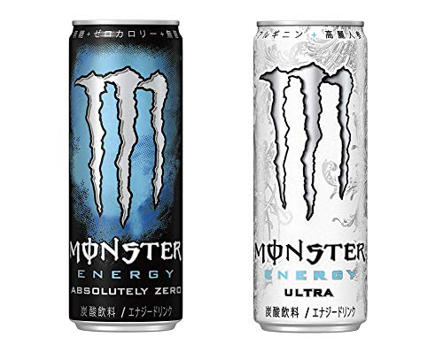 【セット買い】モンスターアブソリュートリーゼロ 355ml×24本 + モンスターウルトラ缶 355ml×24本