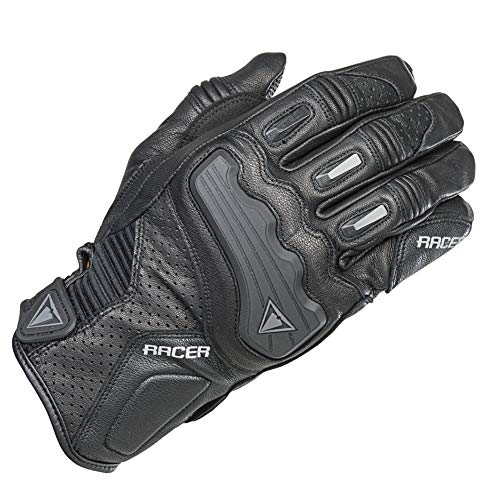 Racer Guide Handschuh, Schwarz, Größe S