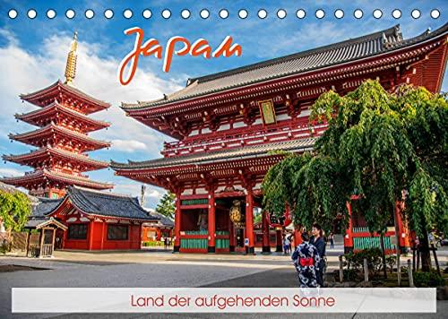 Japan - Land der aufgehenden Sonne (Tischkalender 2022 DIN A5 quer)