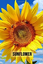 Sunflower: Notebook / Journal / Diary, Unique Floral Gifts (Lined, 6