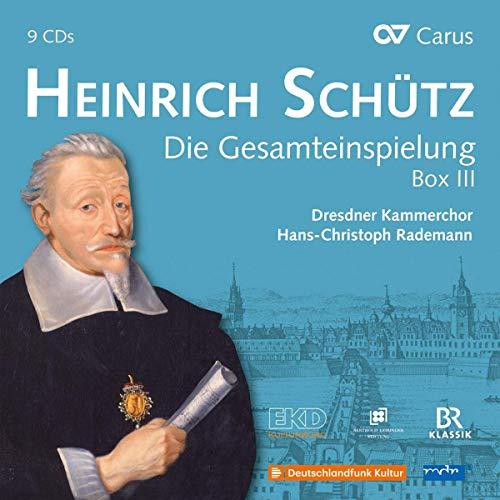 Heinrich Schütz : Intégrale de l'oeuvre, vol. 3. Rademann.