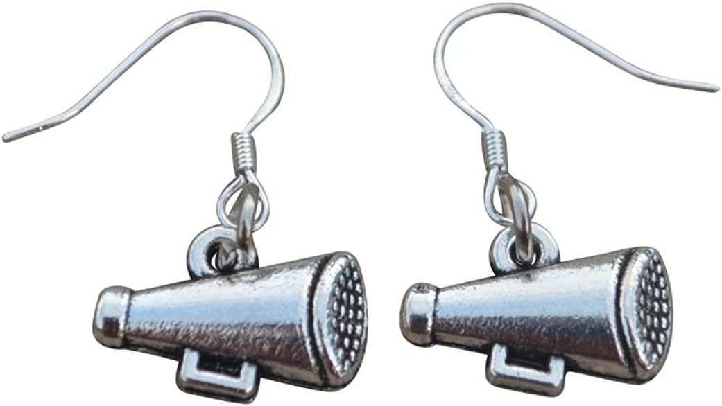 Max 63% OFF Infinity Collection Cheer Megaphone Earrings excellence - fo Jewelry