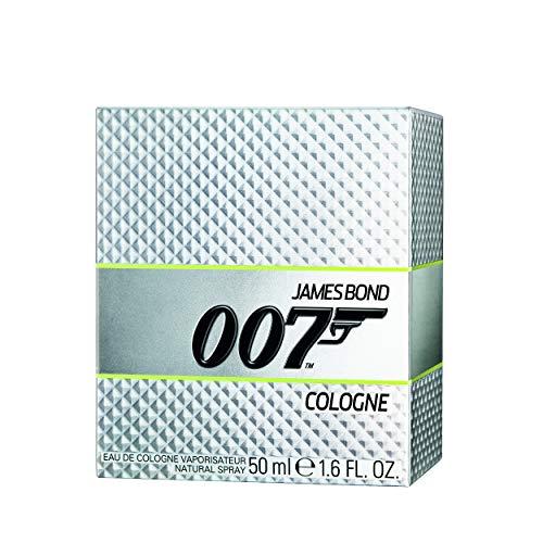 COTY BEAUTY GERMANY GMBH James bond 007 herren parfüm eau de cologne unwiderstehlich-frischer tagesduft gepaart mit britischer eleganz 1er pack 1 x 50ml