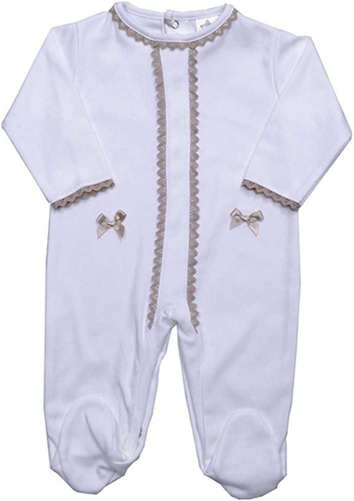 Minhon Made in Portugal 12 Months Off-White Babygrow