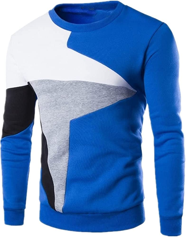 NP Men Pullover Sweater High Men's Color Matching Casual