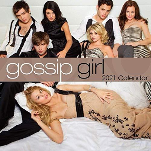 Gossip Girl: 2021 Wall Calendar - Mini size 7' x 7' - 12 Months