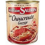 William Saurin garnie au Vin Blanc la Boite 800 g Choucroute