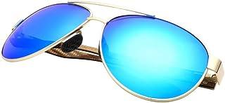 Gafas De Sol,Piloto De Vintage Gafas De Sol Polarizadas Hombres De Fibra De Carbono