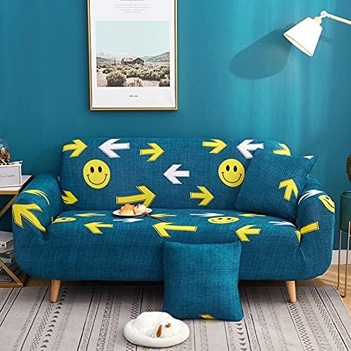 Funda de sofá elástica Funda de sofá Universal Suave Funda de sofá para Sala de Estar Funda de sofá Estilo decoración del hogar Funda A29 1 Plaza
