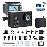 2.0-Inch WiFi Underwater Camera 12MP Sports Action Camera...