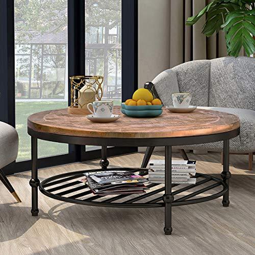 P-PURLOVE-Easy-Assembly-Hillside-Rustic-Natural-Coffee-Table-with-Storage-Shelf-for-Living-Room-Brown