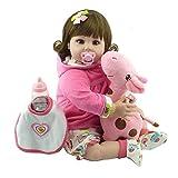 Domybest Reborn Baby Mädchen 55cm Silikon Puppe Kinder Spiele Geschenk Günstig Puppe Baby...