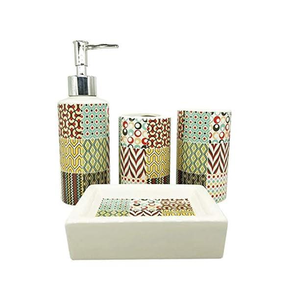 No-Branded Bathroom Accessory Ceramic Bath Set Makeup Set Home Decoration Ideas Bathroom...