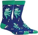 Sock It To Me Herren Crew-Socken - Arch-eology (im Dunkeln leuchten)-(EU 40-46)